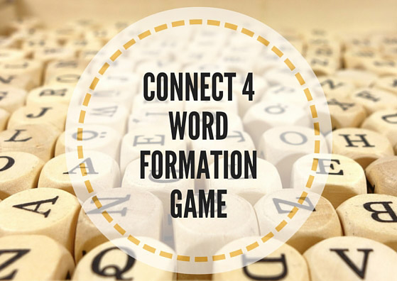 Connect 4 word formation game