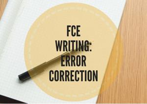 FCE--WRITING-ERROR-CORRECTION