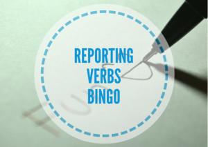 REPORTING-VERBS-BINGO